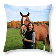 Katherine Pal 18 Throw Pillow