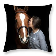 Katherine Pal 2 Throw Pillow