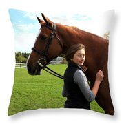 Katherine Pal 20 Throw Pillow