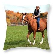 Katherine Pal 21 Throw Pillow