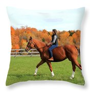 Katherine Pal 26 Throw Pillow