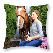 Katherine Pal 5 Throw Pillow