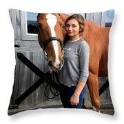 Katherine Pal 8 Throw Pillow