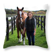 Katherine Pal 9 Throw Pillow