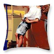 Katie Caboose Throw Pillow