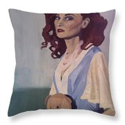 Katie - Teddy Bear Throw Pillow
