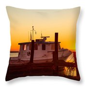 Katlyn At Sunrise Throw Pillow