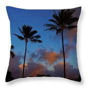 Kauai Sunrise Throw Pillow