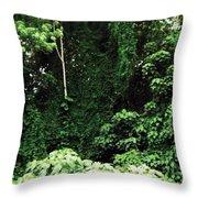Kauai Trees Throw Pillow