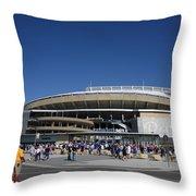 Kauffman Stadium - Kansas City Royals Throw Pillow