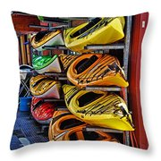 Kayaks Hdrbt3226-13 Throw Pillow