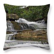 Kbal Chhay Waterfalls Throw Pillow