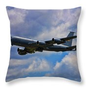 Kc-135 Stratotanker Throw Pillow