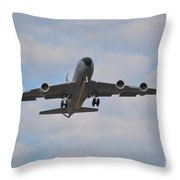 Kc135 Airforce Aircraft  Picture A Throw Pillow
