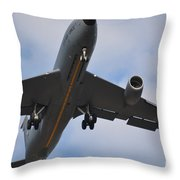 Kc135 Military Aircraft  Picture C Throw Pillow