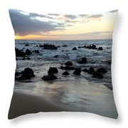 Keawakapu Kahaulani Maui Sunset Throw Pillow