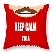 Keep Calm I M A Know It All Throw Pillow