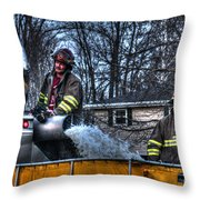 Keep Fire In Your Life No 12 Throw Pillow