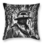 Keep Fire In Your Life No 3 Throw Pillow