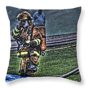 Keep Fire In Your Life No 5 Throw Pillow