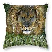 Keep Off The Grass Throw Pillow