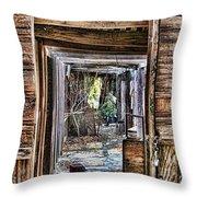 Keep Out By Diana Sainz Throw Pillow