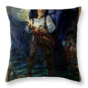 Keep Your Powder Dry Throw Pillow