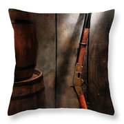 Keeping The Stockroom Throw Pillow by Olivier Le Queinec