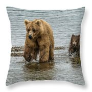 Keeping Up With Mom Throw Pillow