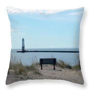 Keeping Watch Throw Pillow