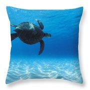 Keiki Turtle Throw Pillow