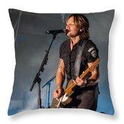 Keith Urban 3 Throw Pillow