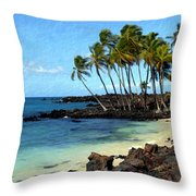Kekaha Kai II Throw Pillow