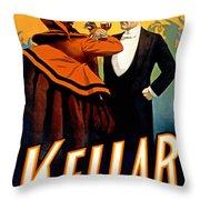 Kellar Toasts The Devil Throw Pillow