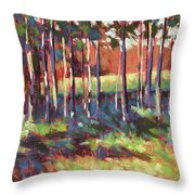 Kelly's Trees Throw Pillow