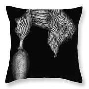 Kelp Pneumatocyst Throw Pillow