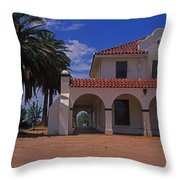 Kelso Station Throw Pillow