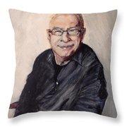 Ken Bruce Throw Pillow