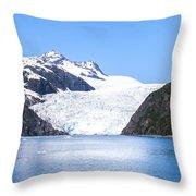 Aialik Glacier Throw Pillow