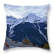 Kendall Mountain Morning Throw Pillow