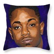 Kendrick Had A Dream Throw Pillow