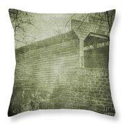 Kennedy Covered Bridge  2 Throw Pillow