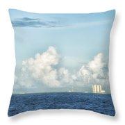 Kennedy Space Center Throw Pillow