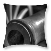 Kennesaw Cannon 1 Throw Pillow