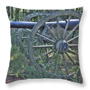 Kennesaw Cannon 4 Throw Pillow