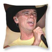 Kenny Chesney Throw Pillow