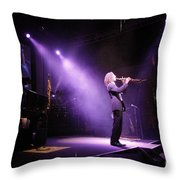 Kenny G Live Throw Pillow