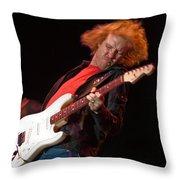Kenny Wayne Shepherd Rocks His Stratocaster Throw Pillow