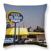 Ken's Ice Cream Sandwiches Throw Pillow