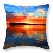 Kensington Sunset Throw Pillow